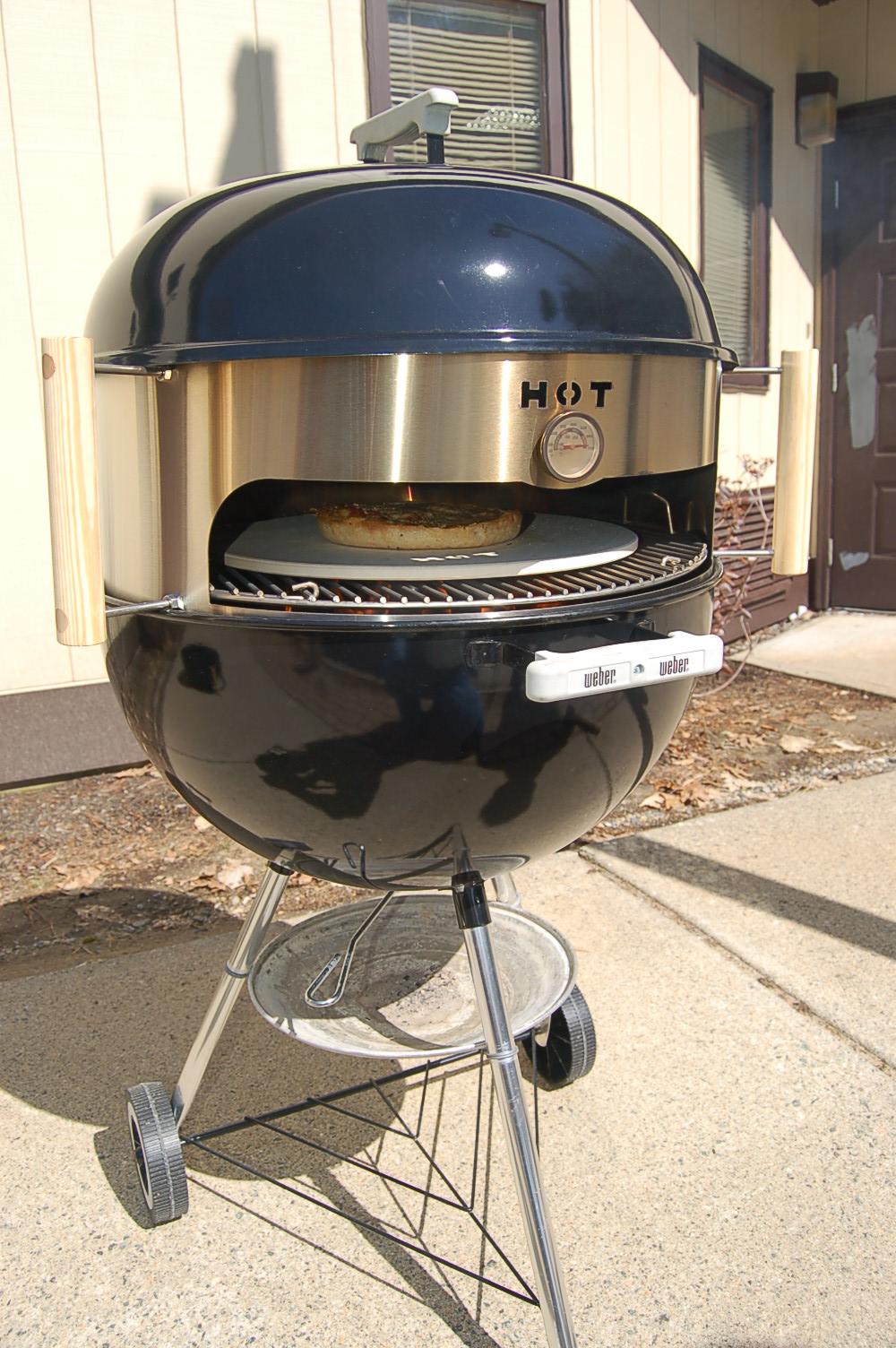 Weber kettle mod the kettlepizza blog - Nettoyer grille barbecue weber ...