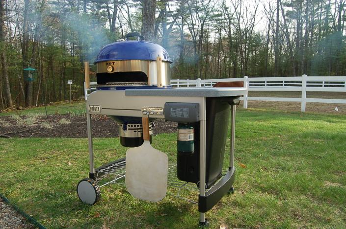 Weber Performer and KettlePizza