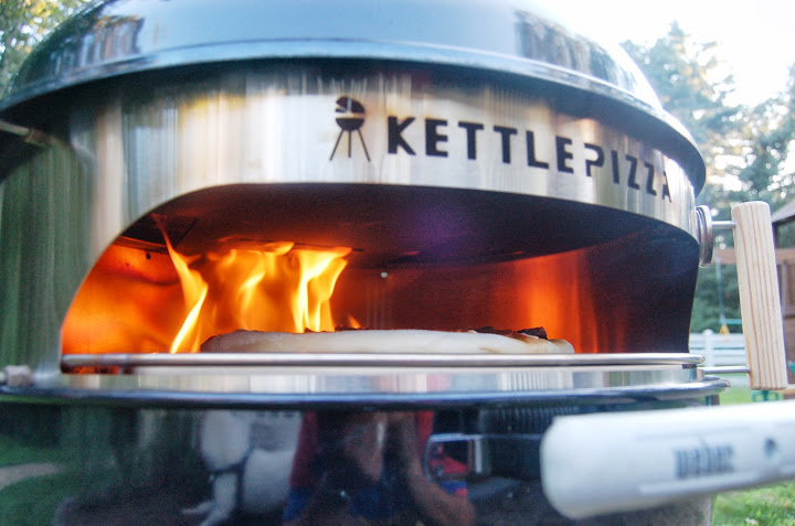Kettlepizza Vs A Traditional Backyard Pizza Oven The Choice Is