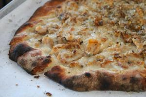 Pepe's White Clam Pizza